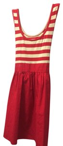 Kimchi Blue short dress Red and white stripes on Tradesy