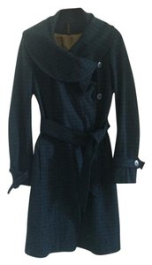 Topshop Wool Wrap Pea Coat
