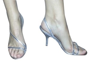 Nine West Metallic Silver Formal