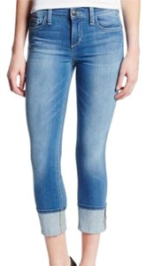 JOE'S Jeans Cropped Capri/Cropped Denim-Light Wash