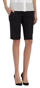 Theory Tailored Bermuda Shorts Black