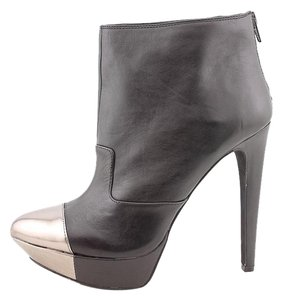 Jessica Simpson Leather Tip Black Boots