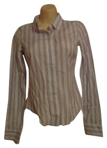Abercrombie & Fitch Plaid Fitted Shirt New Top MULTI COLORED