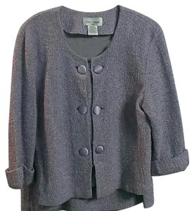 Beautiful Lavender Skirt/Jacket Set with a Button up Jacket
