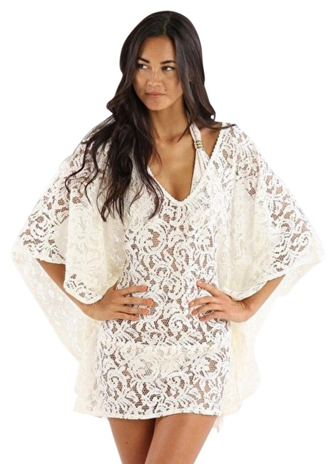 Item - Cream Ignes Cover-up/Sarong Size OS (one size)