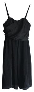 Merona short dress Black Sleeveless Straps on Tradesy