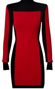 Balmain x H&M Colorblock Bodycon Fitted Dress