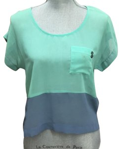 Urban Outfitters Top Turquoise/blue.