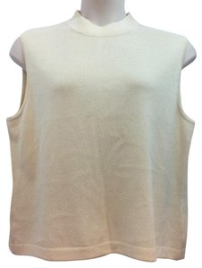 St. John Beige Knit Top