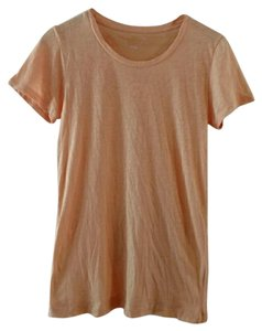 J.Crew Vintage Cotton Preppy Featherweight Soft Casual T Shirt sorbet orange