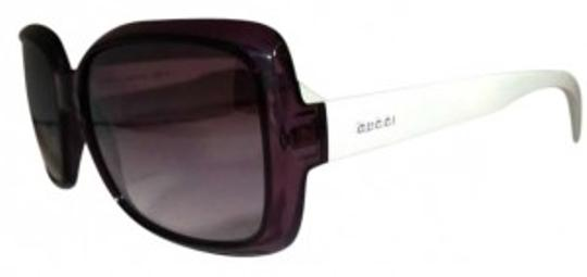 Preload https://item2.tradesy.com/images/gucci-black-and-white-sunglasses-174531-0-0.jpg?width=440&height=440