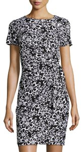 Diane von Furstenberg short dress Black White Wrap Dvf Wrap Zoe Julian on Tradesy