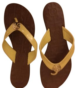 Tory Burch Bright Yellow Sandals