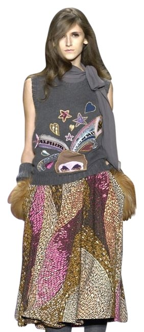 Missoni Numbered Aw07 Show Runway Top Made Italy Vest