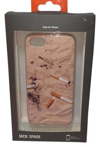 Jack Spade IPHONE 5 5s HARD CASE 9RRU0015 Cigarettes + Match on Beach NEW