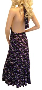 Hourglass Lilly short dress purple on Tradesy