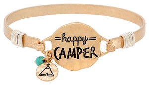 Modern Edge Happy camper Bracelet