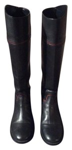 Tory Burch Black with brown accents Boots