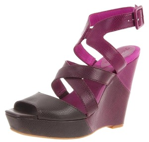 Juicy Couture Sandals purple Wedges