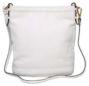 Brian Atwood Leather Mirror Cross Body Bag