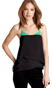 BCBGMAXAZRIA Top Black, Green