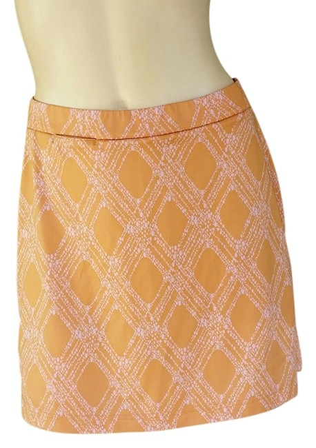 adidas ADIDAS Orange Pink Skort Golf Tennis Climacool Shorts Skirt 4