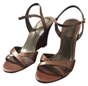 Ralph Lauren Brown Wedges