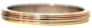 Cartier Auth Excellent Cartier 3 Color Ring 18K Gold Size US10.5 EU62