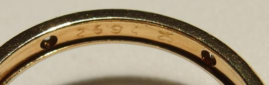 Cartier Authentic Cartier 18k Yellow Gold 0.37ct VS Diamond Trinity Ring Size 53, US 6.5 Image 6