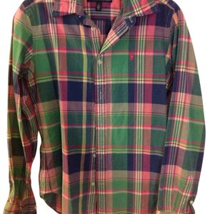 Ralph Lauren Button Down Shirt Check
