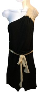 Young Fabulous & Broke short dress black and creme on Tradesy