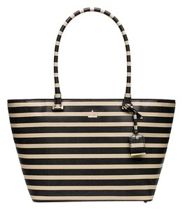 Kate Spade Leather Tote in Offshore/Pebble