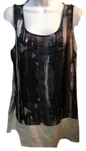 Philosophy di Alberta Ferretti Top black grey & white