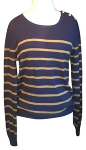 Heritage 1981 Buttons Preppy Casual Sweater