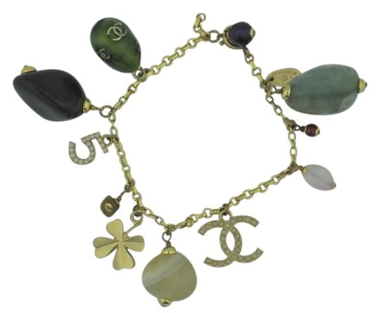 Preload https://item1.tradesy.com/images/chanel-various-charm-10-charms-with-cc-and-number-5-bracelet-1745745-0-0.jpg?width=440&height=440
