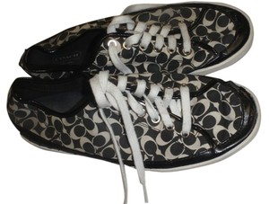 Coach Flat Tennis Rubber Black Athletic