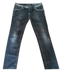 Miss Me Straight Leg Jeans-Distressed