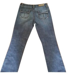 7 For All Mankind RN #109890 Straight Leg Jeans-Light Wash