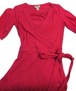 Lilly Pulitzer short dress pink Wrap Classic on Tradesy