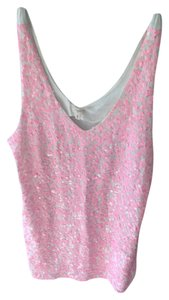 J.Crew Sequin Preppy Top Pink