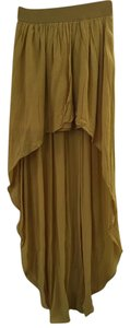 BCBGeneration Maxi Skirt Yellow