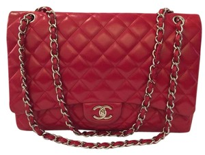 Chanel Maxi Quilted Flap Shoulder Bag