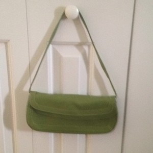 Nordstrom Pea Green Clutch