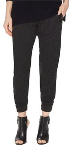 Vince Jogger Relaxedpant Slouchy Relaxed Pants Charcoal/ Black