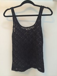 PacSun Lace Lace Top black