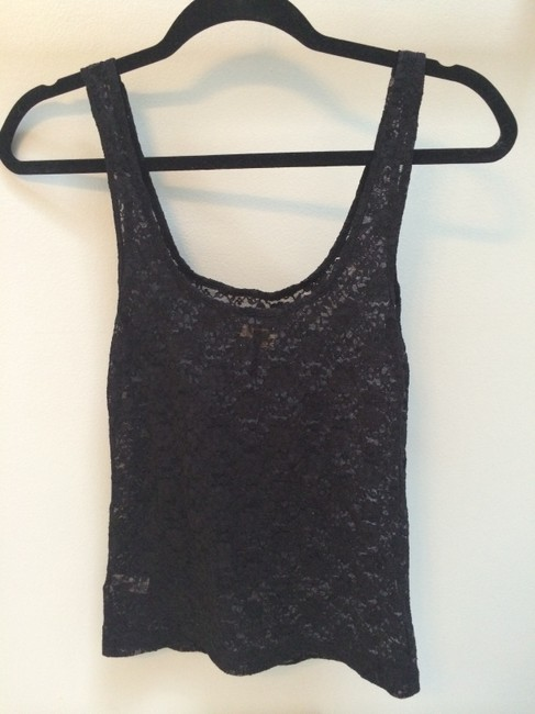 PacSun Lace Lace Lace Lace Top black
