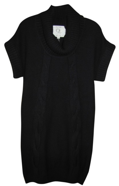 Preload https://item2.tradesy.com/images/black-cashmere-above-knee-short-casual-dress-size-10-m-1746146-0-0.jpg?width=400&height=650