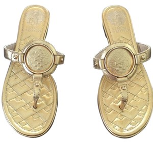 Vince Camuto Hardware Gold Sandals