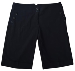 The Limited Bermuda Shorts Jet Black