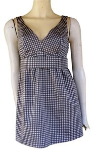 The Limited Sleeveless Circles Top Gray
